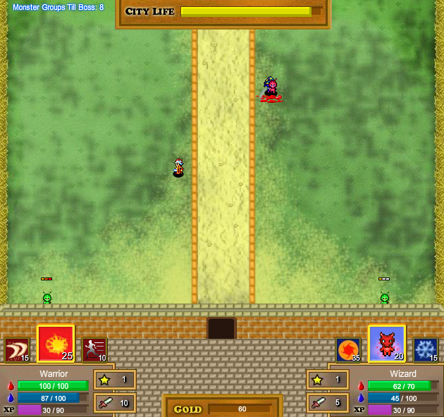 castle defense screenshot