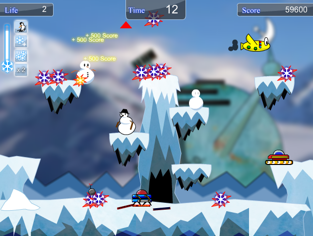 snowflakes frenzy screenshot