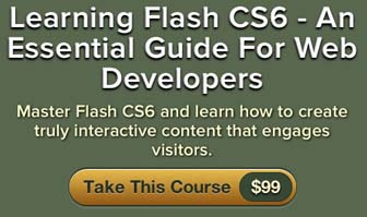 learning flash cs6