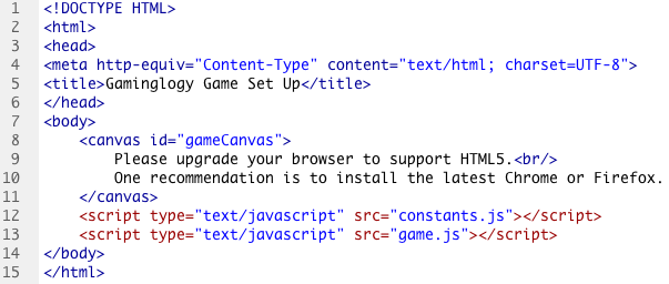 How To Add Keyboard Controls To Your HTML5 Game